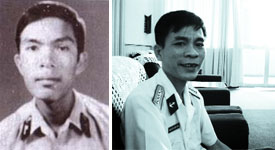 Thiếu úy Trần Văn Phương - Hạ sĩ Nguyễn Văn Lanh (Nguồn: my.opera.com/hotrungnghia)